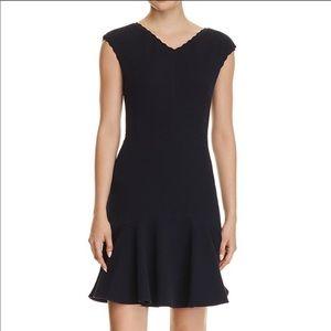Rebecca Taylor Navy Anna Dress L NWT